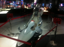 Model of the pilot seat in EVAs.